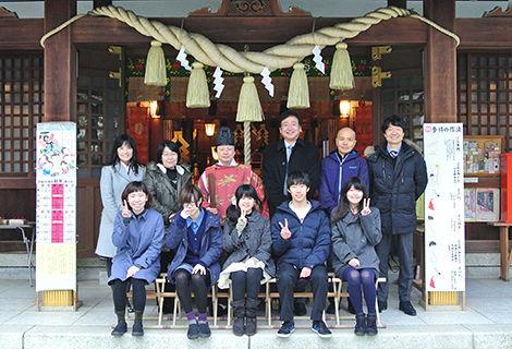 新田神社 日本工学院学生
