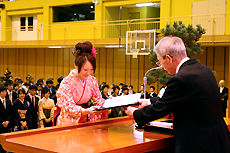 日本工学院北海道専門学校卒業式4