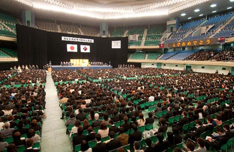 武道館 入学式