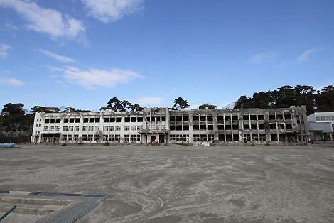 津波 小学校 被災地 石巻