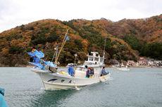 高知 漁船 被災地 贈呈