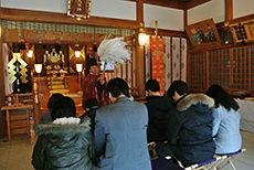 新田神社 祈願