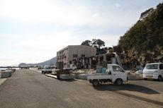 被災地 石巻 漁港