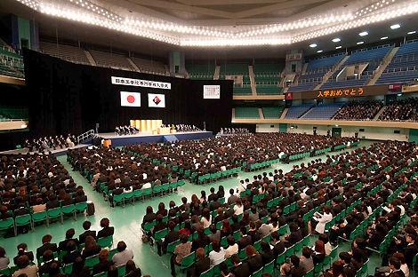 2012 日本工学院専門学校 入学式 武道館