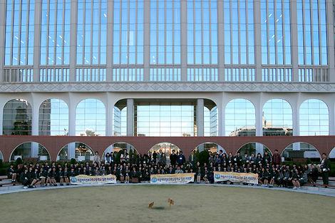 美林情報科学高等学校(韓国) 日本工学院訪問-12