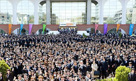 就職出陣式 日本工学院
