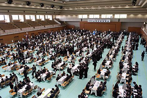 合同企業説明会 日本工学院八王子専門学校