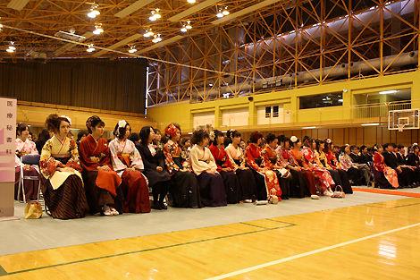 日本工学院北海道専門学校卒業式1