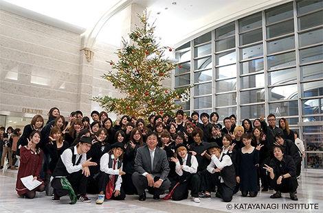 日本工学院ミュージックカレッジ クリスマス点灯式