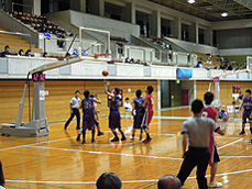 第13回全国専門学校バスケットボール選抜大会 那覇市民体育館2
