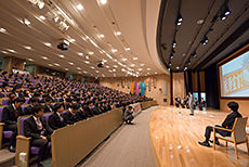 就職出陣式 日本工学院専門学校