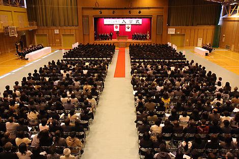 2012 日本工学院北海道専門学校 入学式
