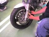 ブレーキ作業