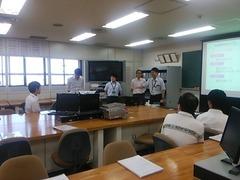 20150809体験入学 OBスペシャル