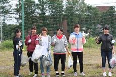 ゴミ拾いボランティア (329)