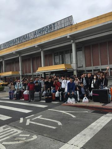 台湾帰国前