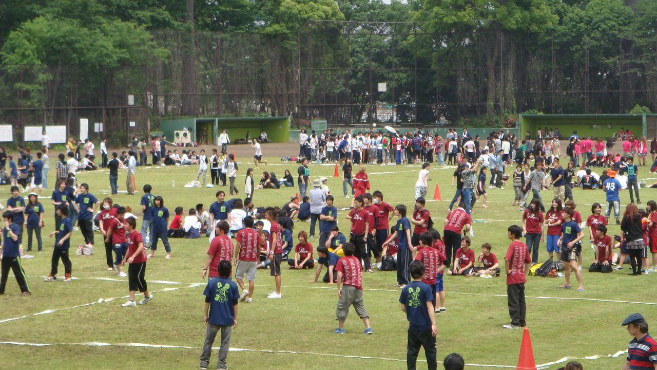体育祭(ドッチボール)