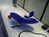 飛行ロボット(青)