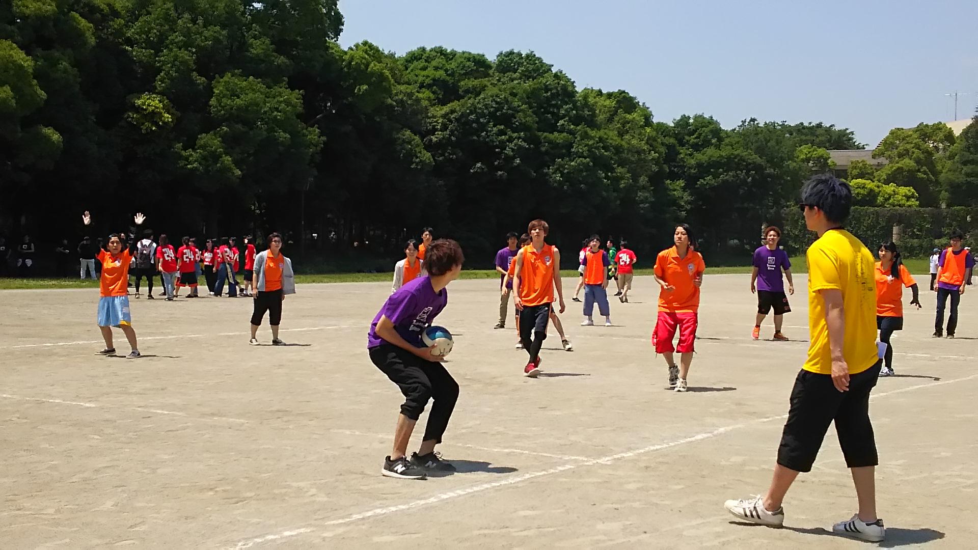 体育祭ドッチボール