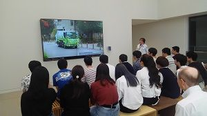 武蔵野クリーンセンター講義