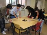 オープンキャンパス準備建築工房清掃