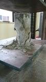 体入コンクリート破壊実験�