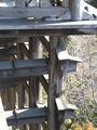 清水の舞台の木組み1