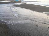 氷る浜辺1