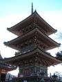三重塔の木組み2