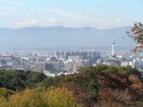 京都市内遠景