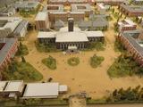 キャンパス模型その1