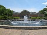 京都国立博物館噴水から正面