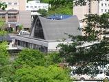 旧温泉科学博物館側面