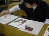 押し花アートA−4版作成2