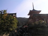 西門と三重塔