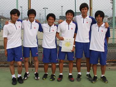2013春季大会男子B準優勝