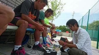 ◆Ustream テニスコースチャンネル【Team Web Blog.】