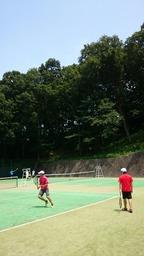 ◆テニスコースの一日【Team Web Blog.】