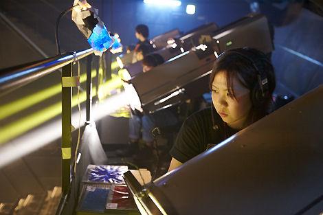 コンサート照明スタッフ
