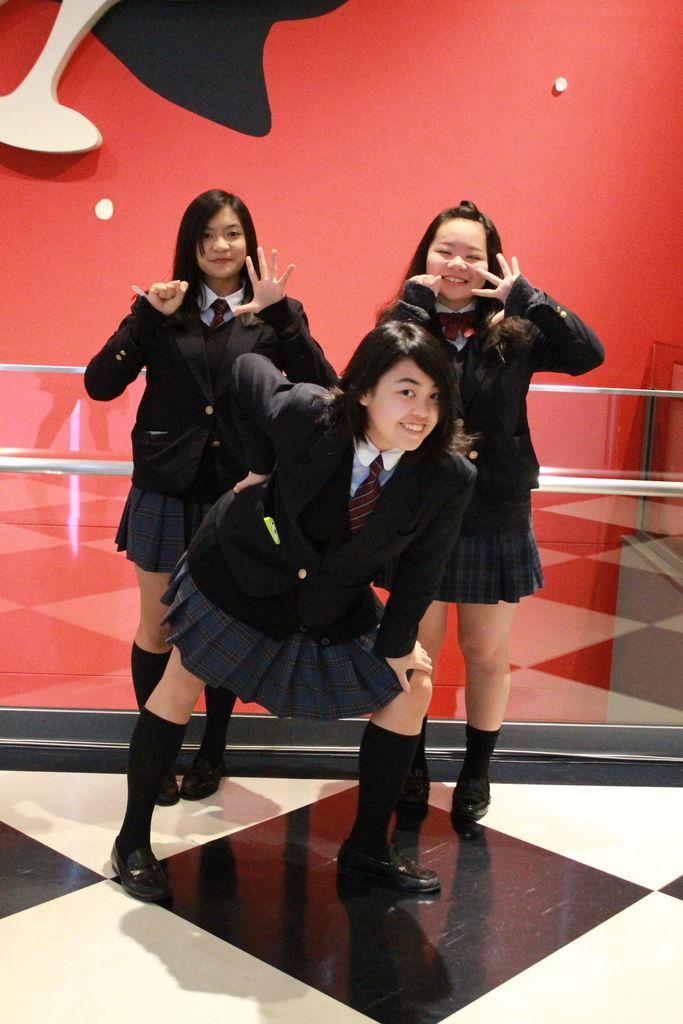 都立深沢高等学校制服画像