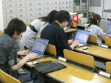 実習中の留学生