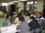 留学生の受付