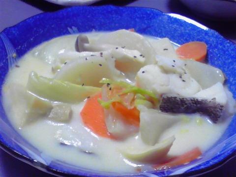 タラとカブのクリーム煮