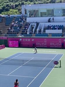 13日テニス