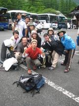 焼岳登山0バスに揺られて