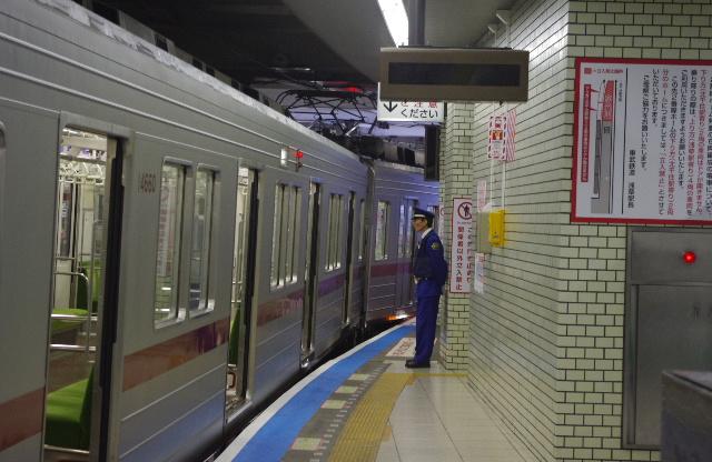 東武浅草駅の改良工事&2番線ドア...