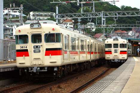 3614 新開地 3608 姫路