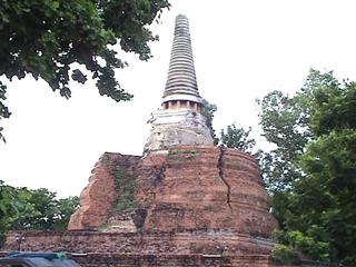 アユタヤの寺
