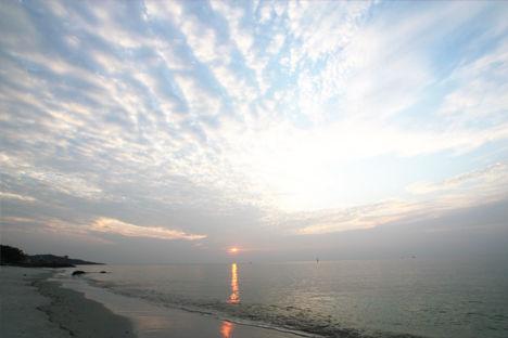 サメット島 朝日