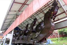 クナラム寺院 船